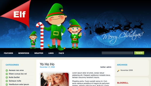 Christmas WordPres Themes
