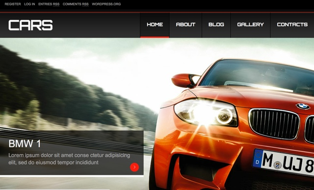 Cars WP Themes