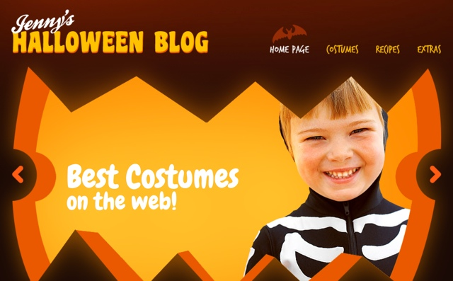 Halloween WP Template