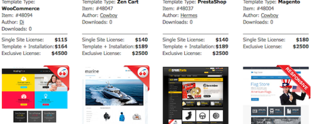 Using E-commerce templates can make your life more easy
