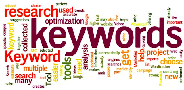 ways to find keywords