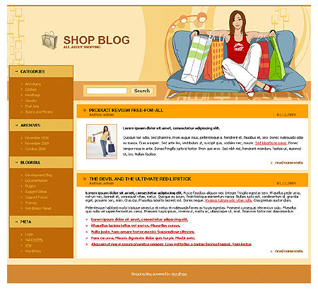 WP Shopping Theme